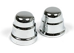 C6 Corvette 2005-2013 Brake Booster Chrome-Plated Cap - Pair