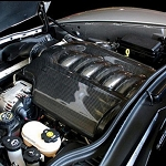 C6 Corvette 2005-2013 Carbon Fiber LS2 & LS3 One-Piece Engine Cover