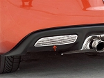 Corvette C6 Reverse Light Covers Billet