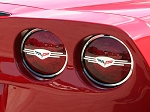 Corvette Taillight Trim Rings Executive Style 4Pc Polished 2005-2013 C6,Z06,GS,ZR1