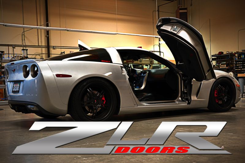 & C5 C6 Corvette 1997-2013 Complete ZLR Style Door Kits | Corvette Mods
