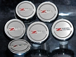 C6 Corvette 2006-2013 Executive Series Fluid Cap Cover 6Pc Set - Z06 505HP Manual