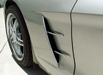 C6 Corvette 2005-2013 Chrome Side Spear Set