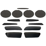 C6 Corvette 2005-2013 Complete Blackout Kit - 13 Piece Set Base Model