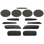 C6 Corvette Z06 / Grand Sport / ZR1 2006-2013 Complete Blackout Kit - 13-Piece Set