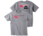 C6 Corvette 2005-2013 Grand Sport Corvette T-Shirt, Gray