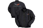 C3 C4 C5 C6 Corvette 1968-2013 Aviator Jacket Black