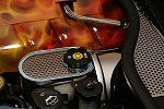 C6 Corvette 2005-2013 Perforated Stainless Master Cylinder Cover