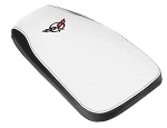 C5 Corvette 1997-2004 Two-Tone Embroidered Leather Console Cushion
