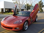 C5 C6 Corvette 1997-2013 Vertical Lambo Style Door Complete Kit