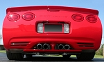 C5 Corvette 1997-2004 ACI Lower Exhaust Rear Diffuser