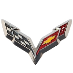 C7 Corvette Stingray/Z06/Grand Sport 2014+ Lapel Pins - Crossed Flags / Stingray / Z06 Logos