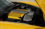 C6 Corvette Base / Grand Sport 2008-2013 Custom Painted Perforated Fuel Rail Covers Replacement Style w/ Cap