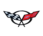 C5 Corvette 1997-2004 Front Emblem Metal Sign