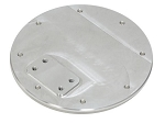 C3 Corvette 1968-1977 Gas Lid Door Plate
