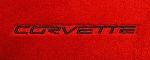 C6 Corvette 2005-2013 Lloyds Ultimat Floor Mats - Corvette Script