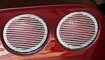 C6 Corvette 2005-2013 Billet Tail Light Covers