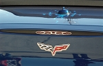 C6 Corvette 2005-2013 5th Brake Light Trim Flame