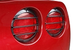 C6 05-13 Corvette Carbon Fiber Taillight Louvers