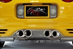 C5 Corvette 1997-2004 Corsa Pro Series Exhaust Filler Panel