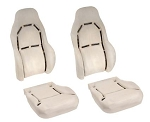 C5 Corvette 1997-2004 Standard Seat Foam Replacements - Sold Individually or as 4pc Set