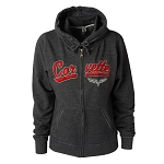C6 Corvette 1968-2013 Ladies Full Zip Track Jacket W/ Hood