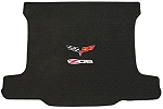 C6 Corvette Lloyds Z06 & Crossed Flags Ultimat Cargo Mat