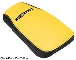 C5 Corvette 2001-2004 Z06 Logo Leather Console Covers - Two-Tone Color Options