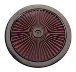 C3 Corvette 1968-1972 K&N Air Cleaner Top X-Stream