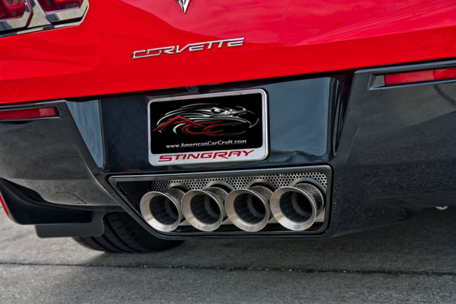 C7 Corvette Stingray Z06 Grand Sport 2014 Perforated Exhaust