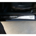 C5 Corvette 1997-2004 Chrome Door Sill Guards - Pair