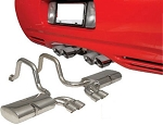 C5 Corvette 1997-2004 Quad Cruiser Exhaust System - Quad 3.5 Inch Tips