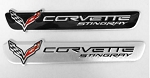 C7 Corvette Stingray 2014-2019 Small Multi-use Emblem