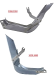 C3 Corvette 1968-1982 Lower Inner Ignition Shield - Side & Year Options