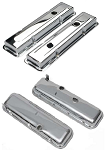 C2 C3 Corvette 1965-1982 Chrome Valve Covers - Big/Small Block