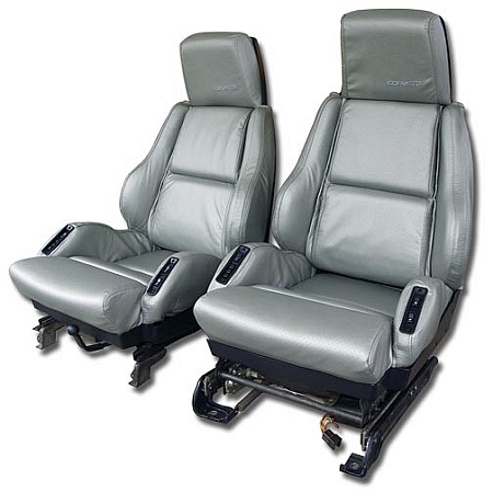 C4 Corvette 1984-1996 Leather-Like Seat Covers - Pair