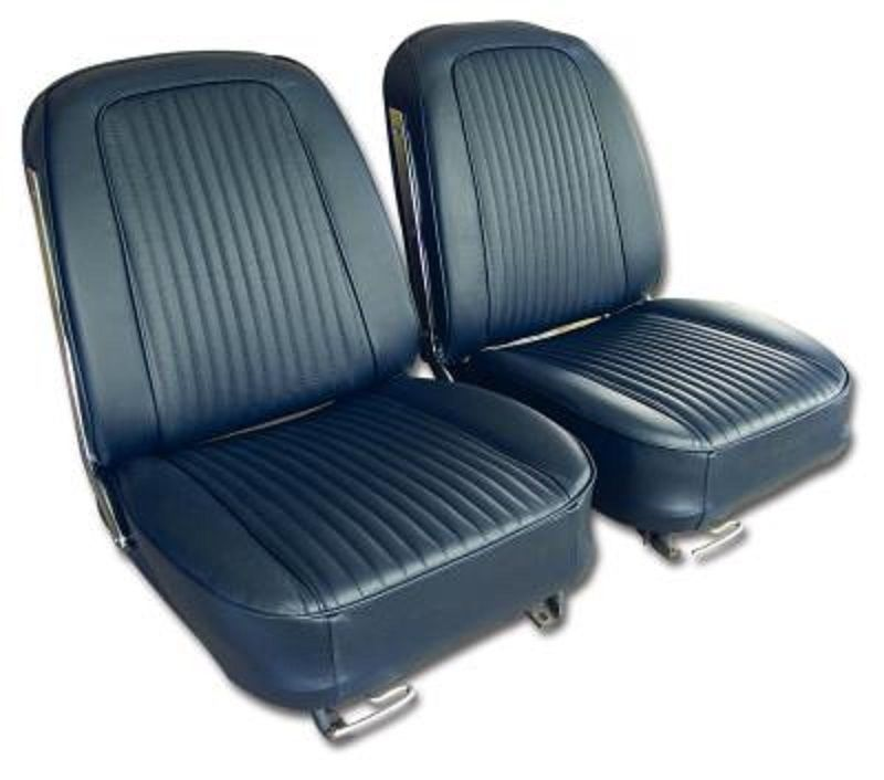 C2 Corvette 1963 1967 Leather Seat Covers
