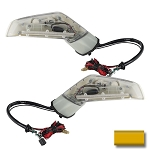 C6 Corvette 2005-2013 Oracle Concept Side Mirrors W/ XM Antenna - Paint Match Option