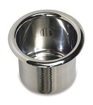 Spun Aluminum Small Drink Holder - Finish Options