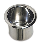 Spun Aluminum Medium Drink Holder - Finish Options