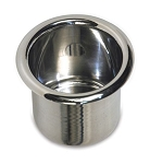Spun Aluminum Large Drink Holder - Finish Options