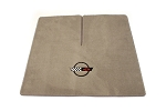 C4 Corvette Coupe 1984-1996 Lloyd Velourtex Cargo Mats with C4 Emblem