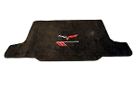 C6 Corvette 2010-2013 Lloyd Ultimat Cargo Mat - Grand Sport Logo & Crossed Flags
