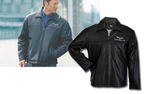 C6 Corvette 2005-2013 Leather Jacket - Perfect Driving Jacket