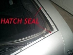 C5 Corvette 1997-2004 Hatch / Trunk Seal Kit
