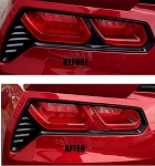 C7 Corvette Stingray / Z06 / Grand Sport 2014+ Vinyl Tail Light Bar Mod