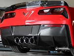 C7 Corvette Stingray/Z06/Grand Sport 2014-2019 Carbon Fiber Rear Diffuser - Undertray Option