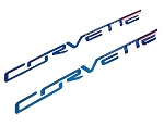 C7 Corvette Stingray/Grand Sport 2014-2019 Custom Painted Fuel Rail Insert Corvette Lettering