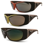 C6 Corvette 2005-2013 Solar Bat Polarized Gunmetal Accent Colored Sunglasses