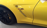 C7 Corvette 2015-2019 Z06 Custom Painted Side Fender Duct Vents - Pair